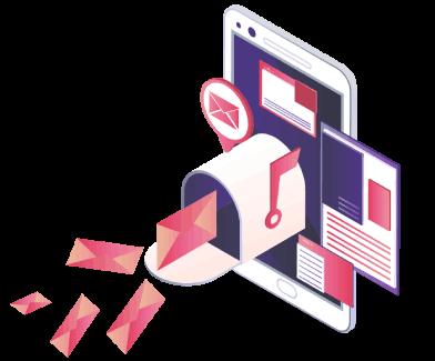 Automação de email marketing responsivo