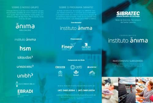 Folder Programa Sibratec