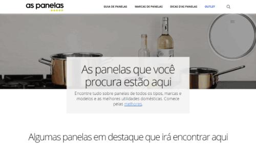 Site aspanelas.com.br