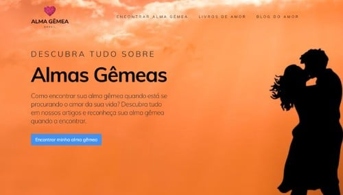 Site Alma Gêmea Brasil