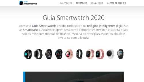Site Guia Smartwatch